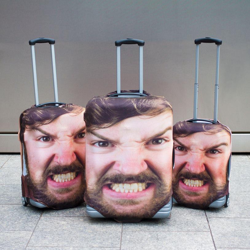 suitcase head case cover